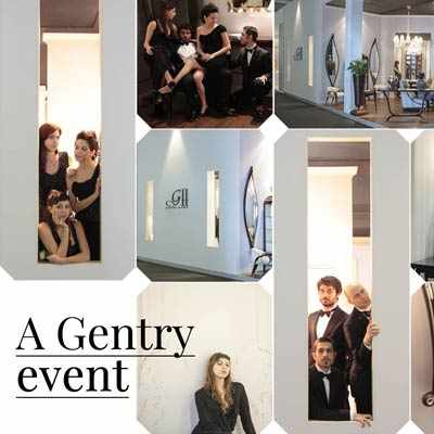 Stand fieristico Gentry Home - in occasione del Salone del Mobile Milano