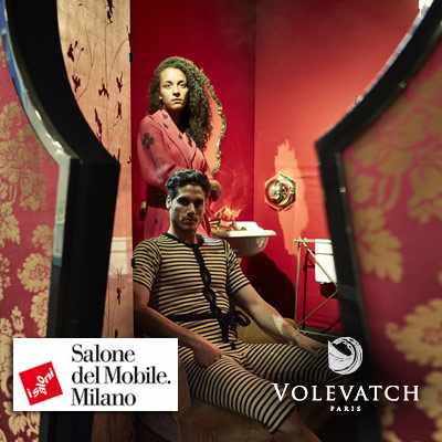 Salone del mobile - stand Volevatch